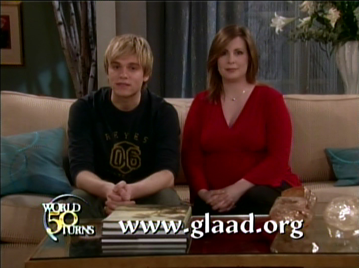 Yep, Lily and Holden's boy is gay! Astheworldturns_psa_screengrab ATWT's Van ...